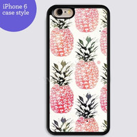 Pineapple case Fruits case for iphone 6 iphone 6 plus iphone 5s case B001