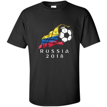 Russia World Soccer 2018 Colombia Football shirt jersey