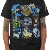 DC Comics T-Shirt - Superheroes