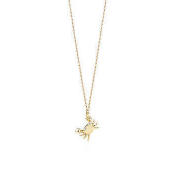 Tiffany & Co. - Crab<br>Charm and chain