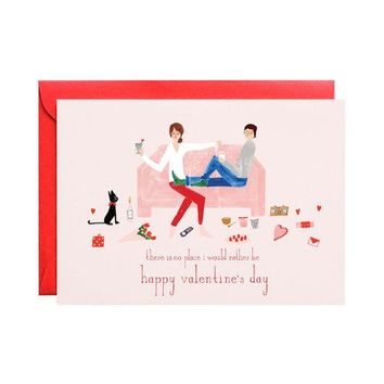 Pass the Chocolates Valentine Card