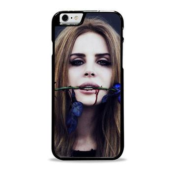 Lana Del Rey Rose On Her Lips Supreme iPhone 6 Plus Case