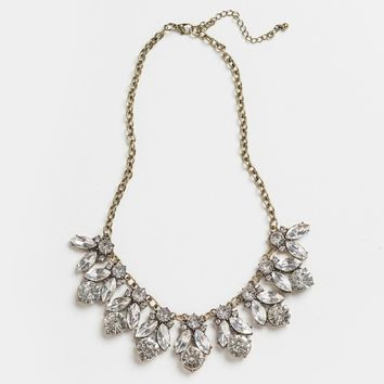 Leah Crystal Statement Necklace