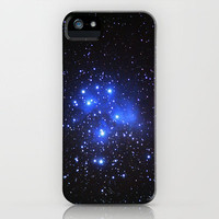 the Pleiades or Seven Sisters in Taurus iPhone Case by Guido Montañés | Society6