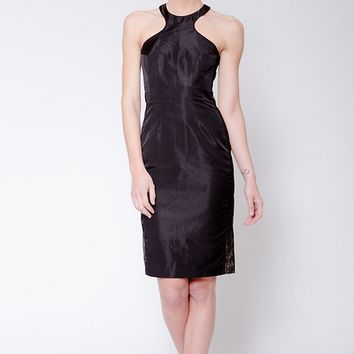 Silk Jay Godfrey Black Dress