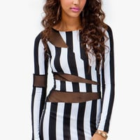 A'GACI Jailbird Bodycon Dress - New Arrivals