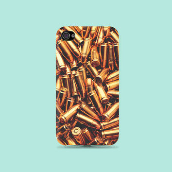 Die today with Gold Bullet Plastic Hard Case - iphone 5 - iphone 4 - iphone 4s - Samsung S3 - Samsung S4 - Samsung Note 2