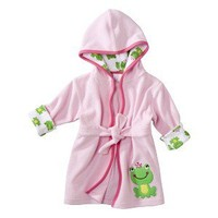 JUST ONE YOU  Made by Carters ® Newborn Girls' Hooded Froggie Robe