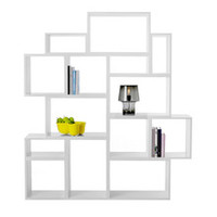 Muuto - Stacked Shelving System, light grey