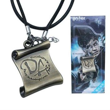 DCCKFV3 10pcs/lot HARRY POTTER Dumbledore Army DA Necklace for Cosplay Comic Con
