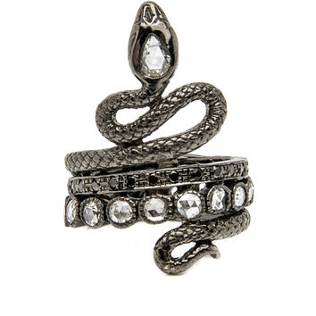 Double Coiled Snake Ring