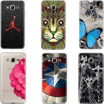 Soft Silicone phone Protective Case for Samsung Galaxy J2 Prime G532F G532G G532M Galaxy Grand Prime Plus + TPU Back cover Wolf