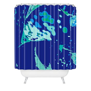 Rosie Brown Del Mar Shower Curtain