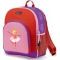 "Crocodile Creek Pocket Backpack - Ballerina  11.5""W x 14""H"