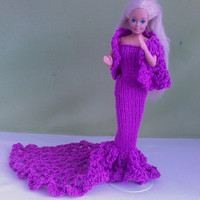 New Handmade  BARBIE DOLL CLOTHES  Evening wear by NANNYCHERYLKATE