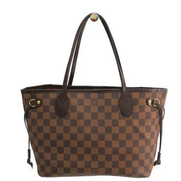 Louis Vuitton Damier Neverfull PM N51109 Women's Tote Bag Ebene BF310049
