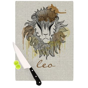 "Belinda Gillies ""Leo"" Cutting Board"