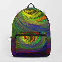 Madman's Sunrise Backpacks by Lyle Hatch