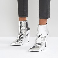 ASOS EVANGELINA Pointed Ankle Boots at asos.com