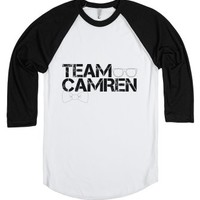 Team Camren-Unisex White/Black T-Shirt