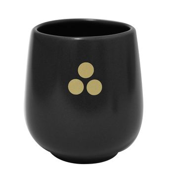 Feeka Cup With Black Circles Set of 6