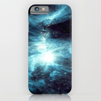 Orion Nebula Teal  iPhone & iPod Case by GalaxyDreams