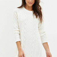 Cable Knit Sweater Dress | Forever 21 - 2000147082