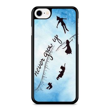 Peter Pan Never Grow Up 2 iPhone 8 Case
