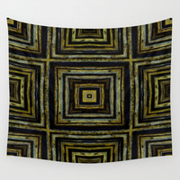 Whispering Reeds  Wall Tapestry by Louisa Catharine Design
