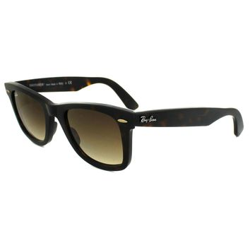 85eacd7dec Ray-Ban Wayfarer Gafas de sol 2140 902/51 Havana Marron Degradad