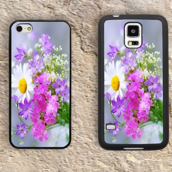 Daisies iPhone Case-Floral Patterns Flower Quotes iPhone 5/5S Case,iPhone 4/4S Case,iPhone 5c Cases,Iphone 6 case,iPhone 6 plus cases,Samsung Galaxy S3/S4/S5-240
