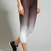 Active Dip-Dyed Capri Leggings