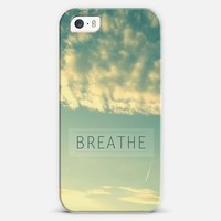 Breathe iPhone 5s case by Sandra Arduini | Casetagram