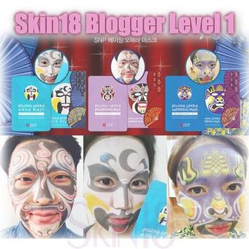 Blogger's Pack (Level 1) SNP Beijing Opera Mask x 1pcs