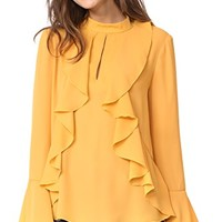 Mansel Ruffle Blouse