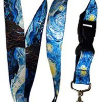 "21"" Tie Dye Lanyard for Keys, Cellphones, iPod, etc."