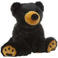 Toys R Us Plush 18 inch Black Bear - Walmart.com