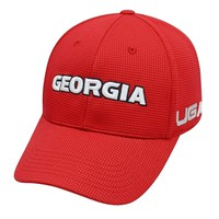 Georgia Bulldogs Sonic Weld UGA Caliber One Fit Hat | Georgia Bulldogs One Fit Hat | UGA One Fit Hat