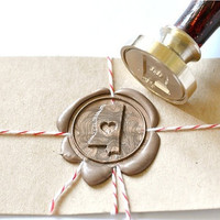 Heart your State Gold Plated Wax Seal Stamp x 1