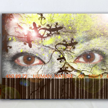 Photography eyes poster -Modern  wall art - Lizards art photo  - Original Photography  art print  - wall art  decor ***Free shipping