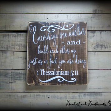 Christian Wood Sign, Bible Verse Sign, Christian Wall Art, Handmade Sign,Rustic Decor,Religious Plaque,Inspirational Sign,Country Home Decor