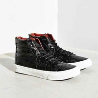 Vans Sk8-Hi Croc Leather Slim Sneaker