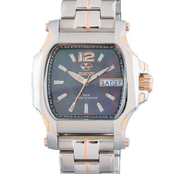 Reactor Ladies Two-Tone Quark2 - Smoke Mother of Pearl Dial - Bracelet - 200M WR