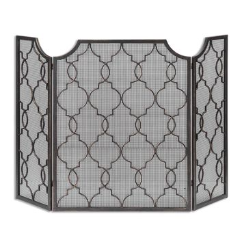 Charlie Fireplace Screen by Uttermost