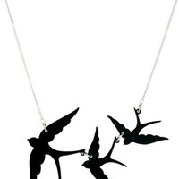 Tatty Devine Swallow Necklace at asos.com