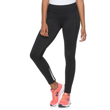 Juniors' SO Mesh Yoga Leggings