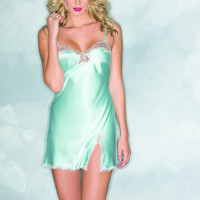 One Piece Babydoll with Lace Detail