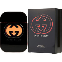 GUCCI GUILTY BLACK by Gucci EDT SPRAY 2.5 OZ