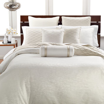 Hotel Collection Woven Texture Comforters, Only at Macy's