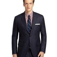 Own Make 101 Hopsack Suit - Brooks Brothers